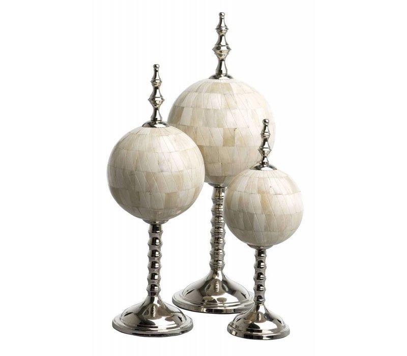 Decoratie set 'Leonardo' van 3 objecten