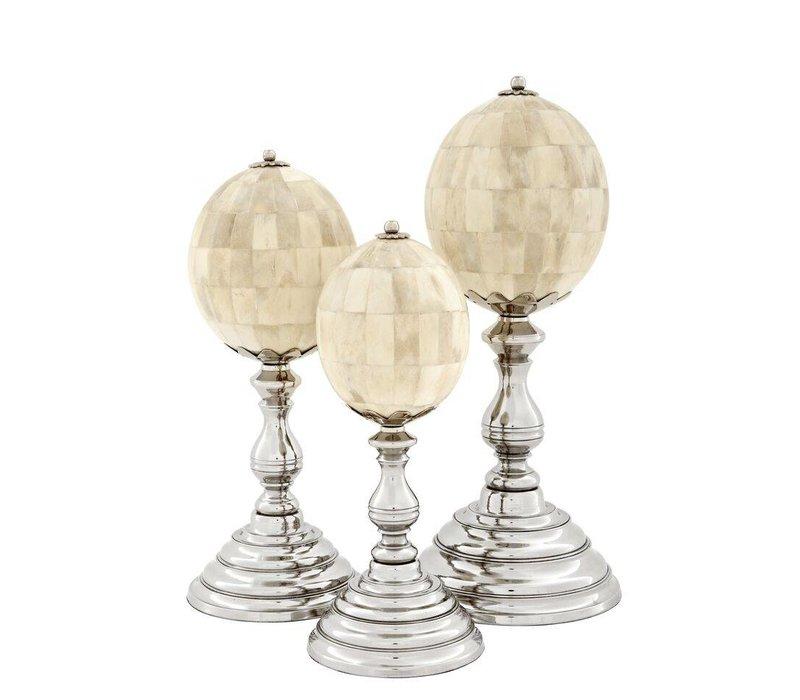 Decoratie set 'Rubidoux' van 3 objecten