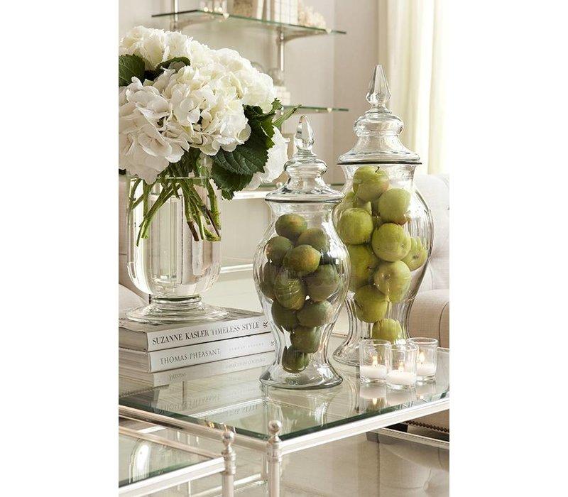 Glass vase 'Haubert' L H 56cm