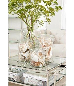 Eichholtz Glass vase 'Fauchere S' H 31,5 cm