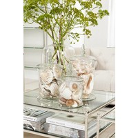 Glass vase 'Fauchere L' H 37,5 cm