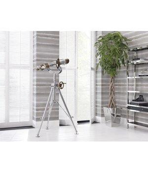 Eichholtz Planter stainless steel 'Hanbera' H 57cm
