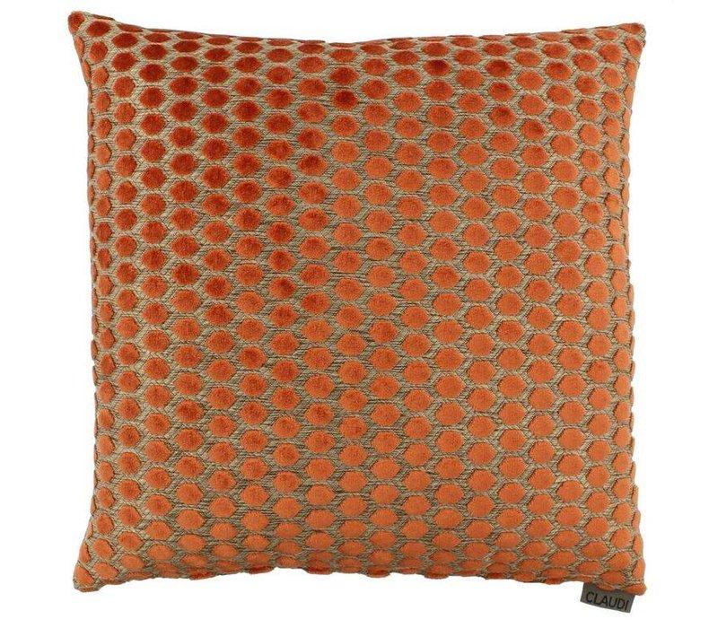 Zierkissen Sergio im Farbe Orange