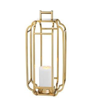 Eichholtz Windlicht 'Palisades' Gold H=55cm