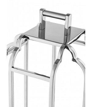 Eichholtz Windlicht 'Palisades' Silver H=55cm