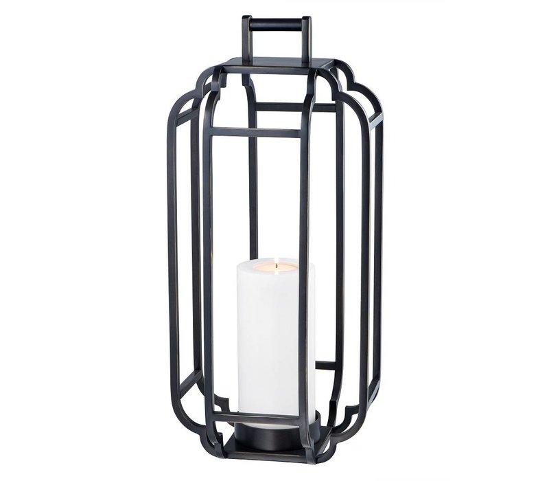 Windlicht 'Palisades' Black H=55cm