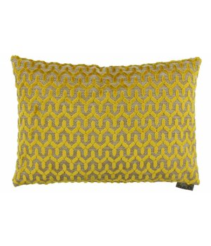 Claudi Cushion Jacopo in color Mustard