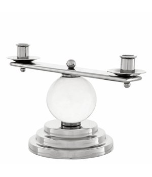 """Eichholtz Hochglanz-Kerzenständer """"Leopold"""" H = 16,5 cm"""