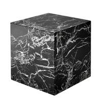 Marmorner Beistelltisch 'Cube Link' 50x50cm