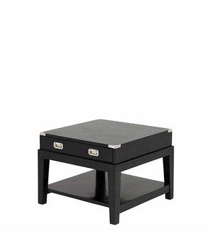 Eichholtz Side Table 'Military' 67,5 x 67,5 x H 50 cm