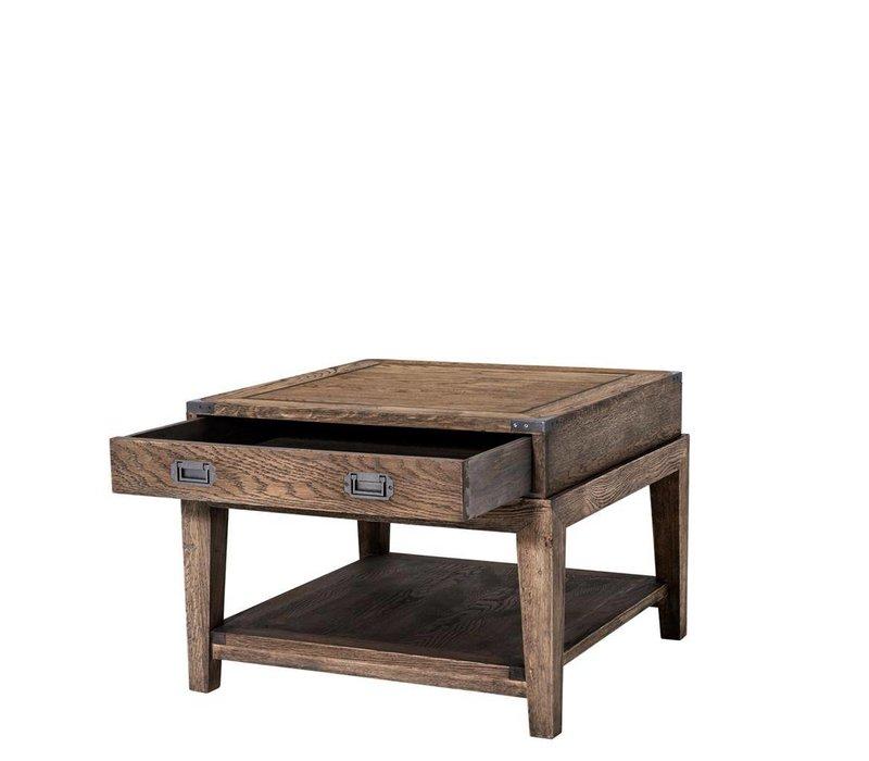 Sidetable 'Military Oak' 67,5 x 67,5 x 50cm