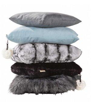 Winter-home Cushion Alcantara 'Anthracite' - SALE