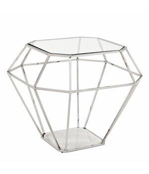 Eichholtz Design Side Table 'Asscher' 65 x 65 x H56cm