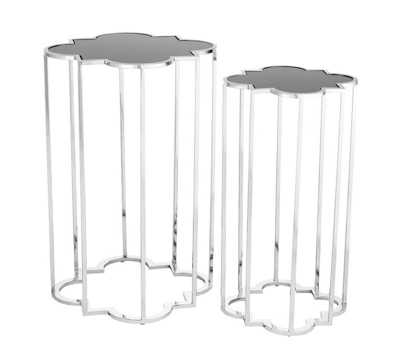Design side table Concentric set of 2