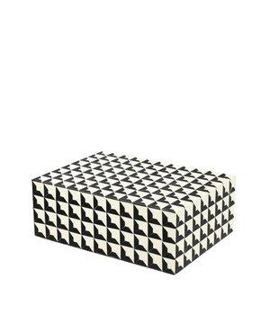 Eichholtz Luxus-Sammeldose 'Cabas' L Größe:28 x 21 x H. 10 cm