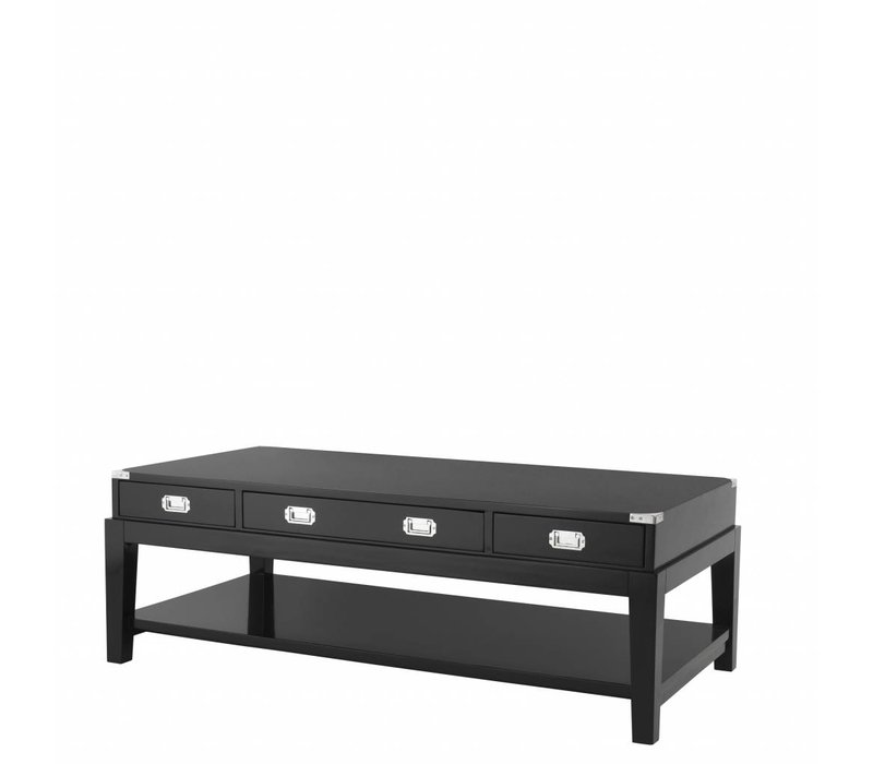 Design Coffee table 'Miltary' 140,5 x 71,5 x 48cm