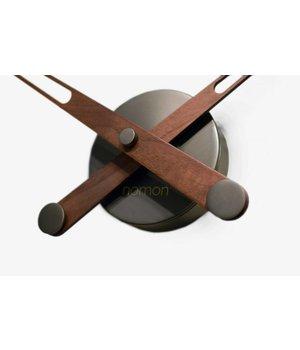 Nomon houten klok alleen wijzers 'Axioma N - Graphite'