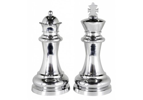 "Eichholtz Dekorationsset ""Chess King & Queen"""