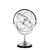 Decoratie 'Globe' maat L is 52cm hoog.
