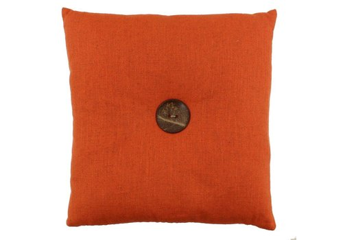 CLAUDI Design Cushion Albert Orange