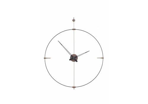 Nomon round clock 'Mini Bilbao'