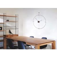 "Runde Uhr ""Mini Bilbao"" in minimalistischem Design"