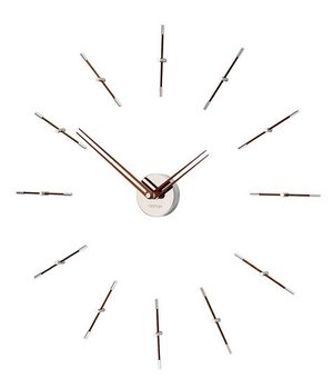Nomon Mini Merlín minimalistic large wall clock, 70cm.