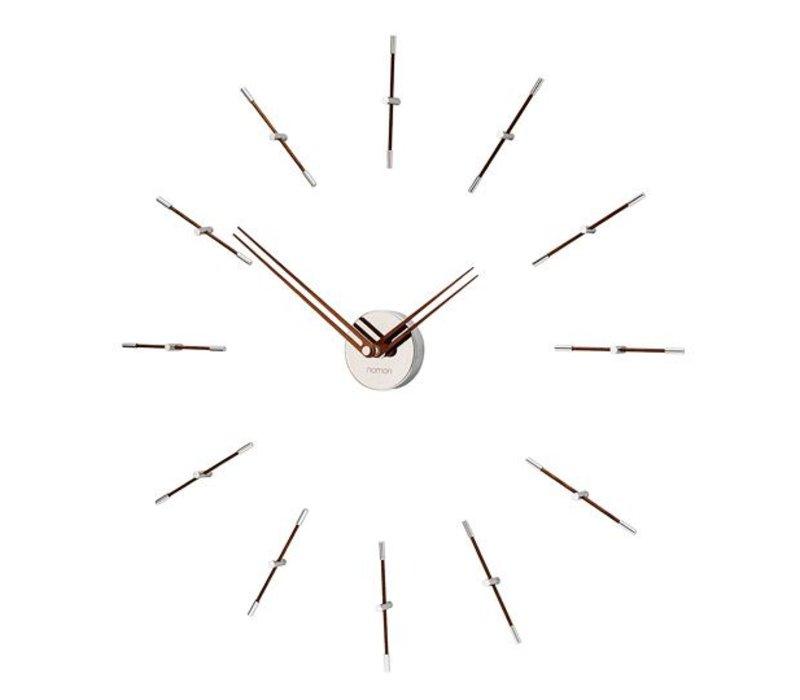 Mini Merlín minimalistic large wall clock, 70cm.