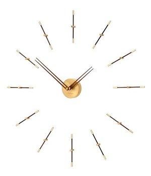 Nomon Mini Merlín Gold minimalistic large wall clock, 70cm.