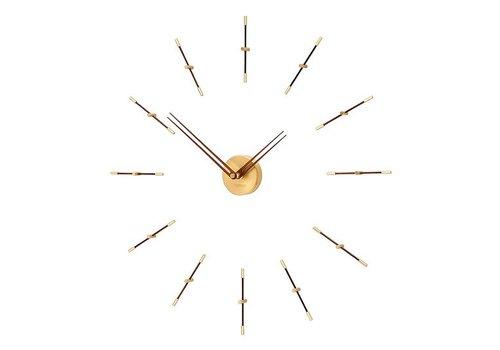 Nomon Wall clock 'Mini Merlín' Gold