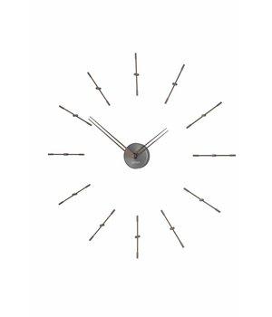 """Nomon Wanduhr """"Mini Merlin Graphite"""" im minimaoistischen Design, Durchmesser 70cm"""