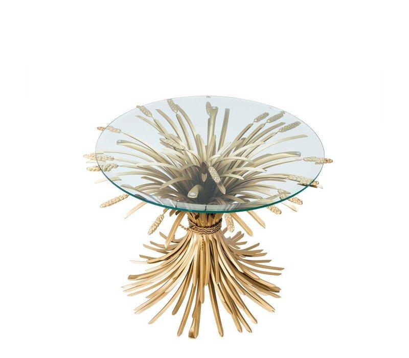 Designer-Beistelltisch Bonheur mit einem Durchmesser von 80 cm.
