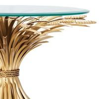 Design bijzettafel Bonheur met een diameter van 80cm