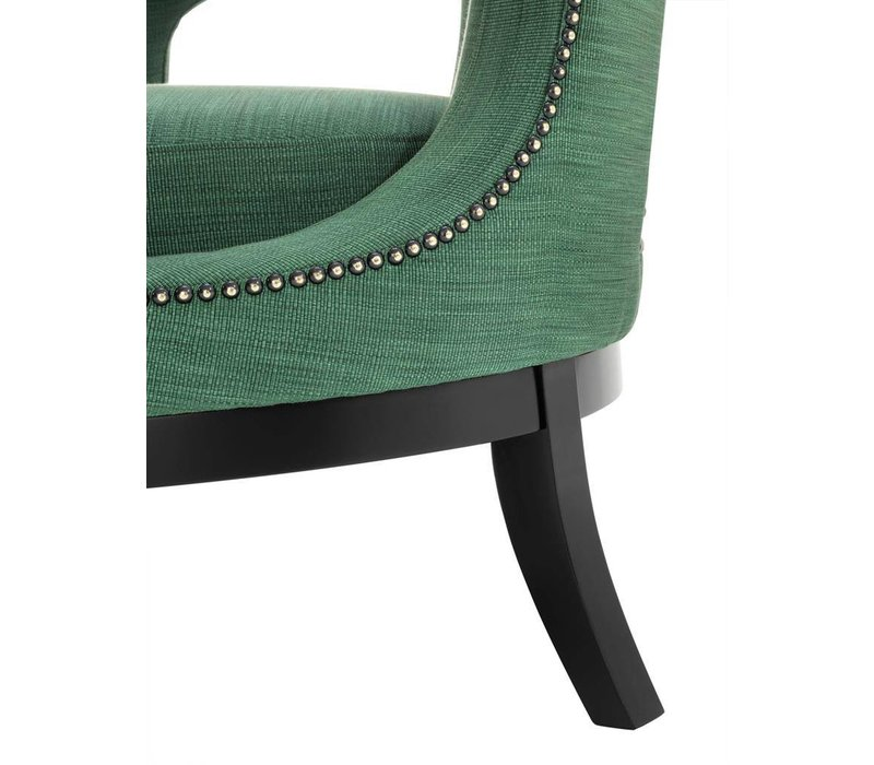 Sessel Adam in der Farbe Albin Green