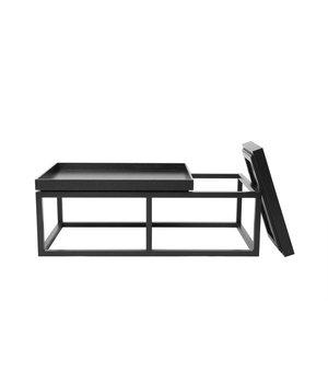 NORR11 Houten salontafel 'Tray' in de kleur zwart