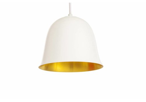 "NORR11 Design Hängelampe ""Cloche One"" Weiß"