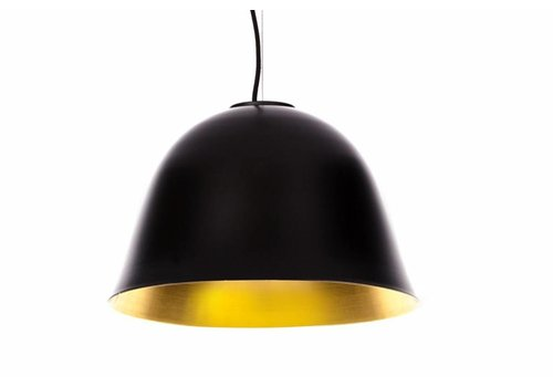 "NORR11 Design Hängelampe ""Cloche Two"" Schwarz"