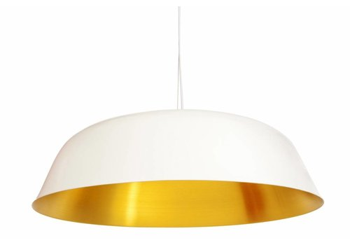 "NORR11 Design Hängelampe ""Cloche Three"" Weiß"