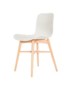 NORR11 Design-Stuhl Langue Original Natural in der Farbe Off white