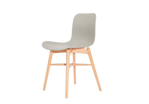 NORR11 Design-Stuhl Langue Original Natural / Flint Grey