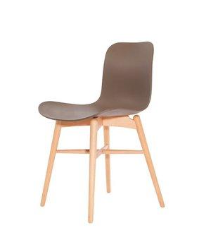 NORR11 Design-Stuhl Langue Original Natural in der Farbe Gargoyle Brown