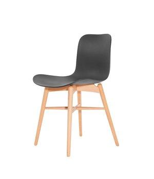 NORR11 Design-Stuhl Langue Original Natural in der Farbe Anthracite Black