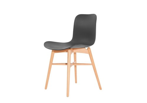 NORR11 Design-Stuhl Langue Original Natural / Anthracite Black