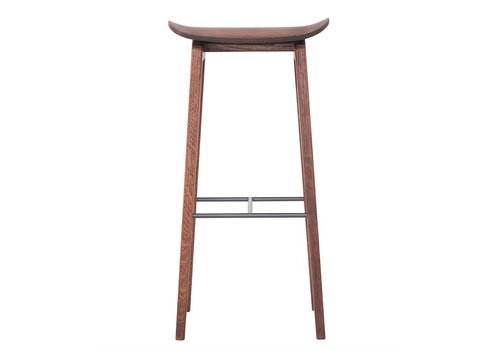 NORR11 Bar chair NY11 Walnut