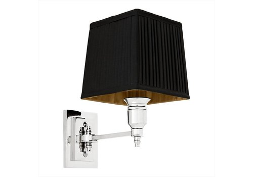 Eichholtz Wall lamp Lexington Single - Black