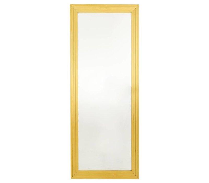 Wandspiegel 'Levine' 86 x 219 cm kleur goud