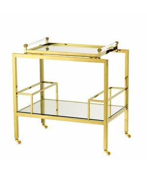 Eichholtz Trolley 'Majestic' Gold 72 x 47 x H. 72 cm