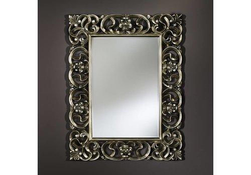 Deknudt klassieke spiegel - zilver 'Baroque'