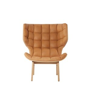 NORR11 Mammoth Lounge Chair mit Vintage Leather