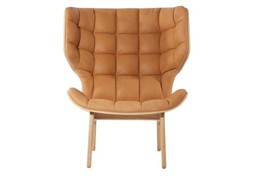NORR11 Mammoth Lounge Chair - Leather